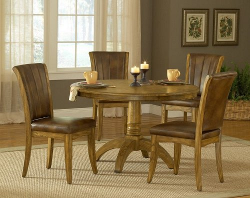dining room tables for sale cheap | Oak Dining Room Sets For Sale: Cheap 5pc Round Dining ...
