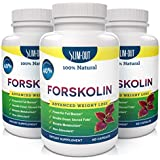 NEW!!NEW!!NEW!!Forskolin Pure Coleus Forskohlii Root complex at 40% standardized - 300mg of Active Forskolin for Weight Loss, Highly Recommended Product for Fat Burning and Melting Belly Fat. The Best Forskolin Product on the Market!! This Offer Is For One Bottle Manufactured in a USA Based GMP Organic Certified Facility and Third Party Tested for Purity. Guaranteed!60 capsules per bottle by Slim-Out