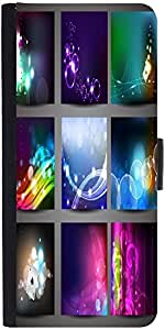 Snoogg Creative Abstract Background Set Designer Protective Flip Case Cover F...