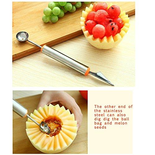 Mother s day gift prociv pcs melon baller fruit carving