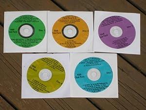 Music Maestro CDG Karaoke 5 Disk R+B CLUB PACK SET - 92 Songs Soul, Motown, Rhythm and Blues