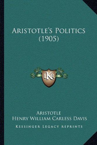 Aristotle's Politics (1905)