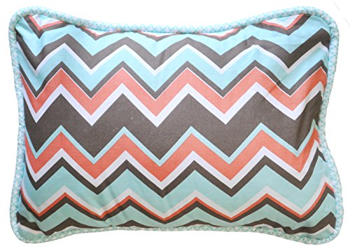 New Arrivals Accent Pillow, Piper in Aqua