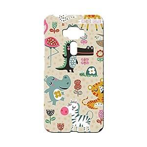 BLUEDIO Designer Printed Back case cover for Asus Zenfone 3 - G5946