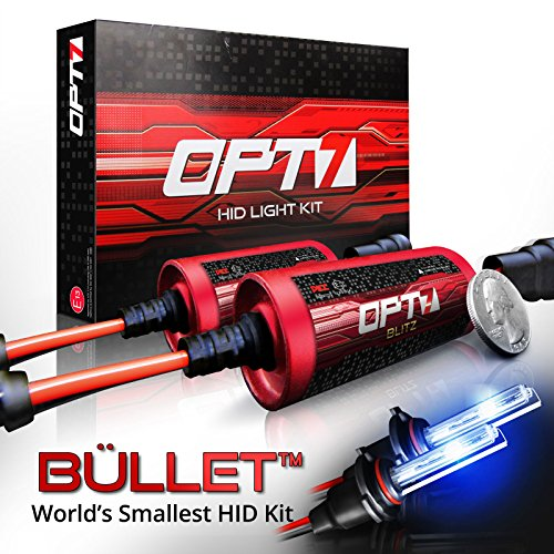 "OPT7 Blitz Bullet HID Kit • Powerful ""Mount-Less"""