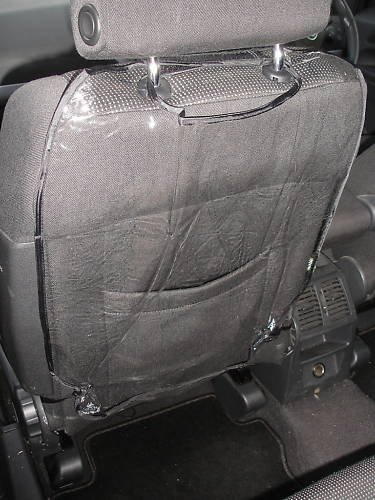 Auto Seat Back Protector - 2 Pack By Zone Tech