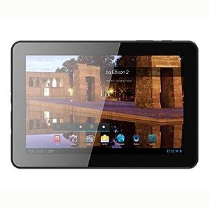 "BQ Edison 2 - Tablet de 10.1"" (Wi-Fi, Bluetooth, 16 GB, 1 GB RAM, Android 4.1), negro"