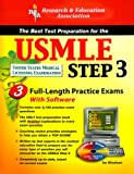 img - for The USMLE Step 3 with CD (REA) - The Best Test Prep for the USMLE Step 3 (Test Preps) book / textbook / text book