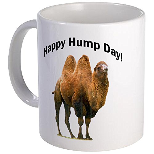 CafePress - Happy Hump Day! - Coffee Mug, Novelty Coffee Cup