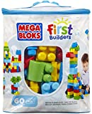 Mega Bloks First Builders Big Building Bag, 60-Piece (Classic)