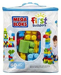 Mega Bloks Classic Buildable Bag (60 Pieces)