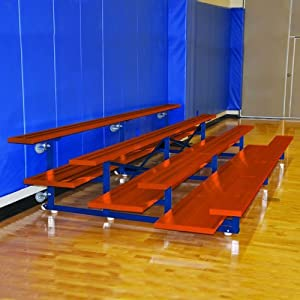 Jaypro Sports Bldp-2trgpc Powder Coated 2 Row 15 Ft Preferred Tip And Roll from Jaypro Sports