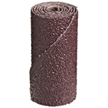 "3M  Cartridge Roll 341D, Straight, 3/4"" Diameter x 1-1/2"" Length, 60 Grit (Pack of 100)"