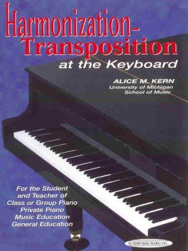Harmonization-Transposition at the Keyboard