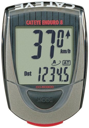 Cateye CC-ED300 Enduro 8-Function Bicycle Computer