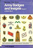 img - for Army Badges and Insignia of World War II, Book 2 (Army Badges & Insignia) book / textbook / text book