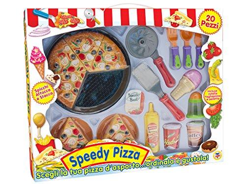 Teorema 64198 - Speedy Pizza, Set da Asporto, Multicolore