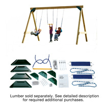 Scout DIY Play Set Hardware Kit