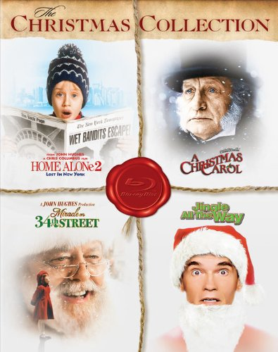 The Christmas Collection (Home Alone 2: Lost in New York / A Christmas Carol / Miracle on 34th Street / Jingle All the Way) [Blu-ray] (Home Alone 2 Blu Ray compare prices)