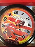 CARS DISNEY PIXAR 10 WALL CLOCK: Quartz Accuracy, Easy Wall Mounting. Battery Operated Requires 1 AA Battery (Not Included)
