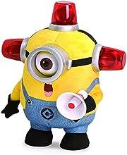 Minions Plüsch Figur Bee-Do Fireman mit Sound und Lichteffekten aus Ich Einfach Unverbesserlich 31cm