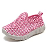 EQUICK Kids Slip-on Casual Sneakers Breathable Water Shoes for Running Pool Beach (Toddler/Little Kid)