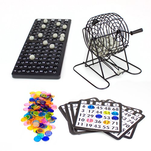 Read About Brybelly Complete Bingo Game Set