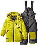 Rugged Bear Baby Boys' Robot Snowsuit and Coat Two-Piece Set