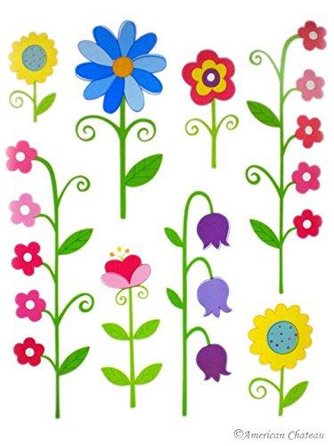Kids Room Decor Vinyl Wall Decal Nursery Garden Art Mural Sticker Wallies