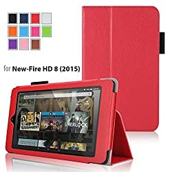 Case for Fire HD 8 - Elsse Premium Folio Case with Stand for the NEW Fire HD 8, 8