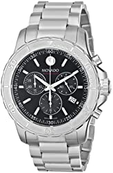 Movado Men's 2600110 Series 800 Eco-Drive Stainless Steel Bracelet Watch