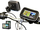 Navitech Cycle / Bike / Bicycle / Motorbike Waterproof holder mount and case for GPS satnav models up to 4.3