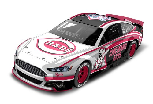 Cincinnati Reds Major League Baseball Hardtop Diecast Car, 1:64 Scale