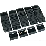 Earring Display Hang Cards Black Flocked 2 X 2 Inch (100)