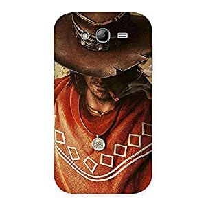 Gorgeous Cowboy Multicolor Back Case Cover for Galaxy Grand Neo