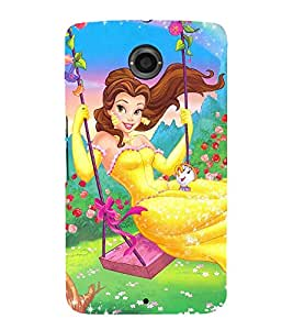 EPICCASE the fairy tale princess Mobile Back Case Cover For LG Nexus 6 (Designer Case)
