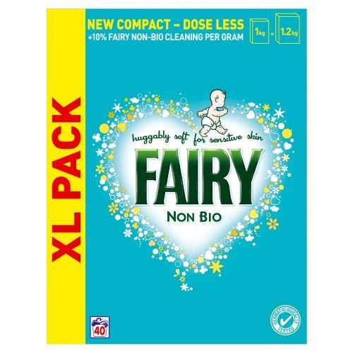 Fairy Non Bio Laundry Powder, 40 Washes