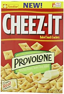 Cheez-It Crackers, Provolone, 12.4 Ounce