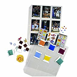 2PK C-Line Collector\'s Edition Trading Card Holder Pgs Top Load 11.25 x 9\