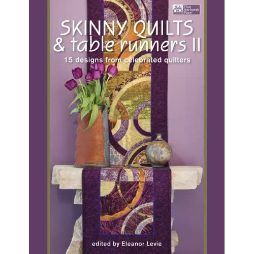 Skinny Quilts & Table Runners II Bk