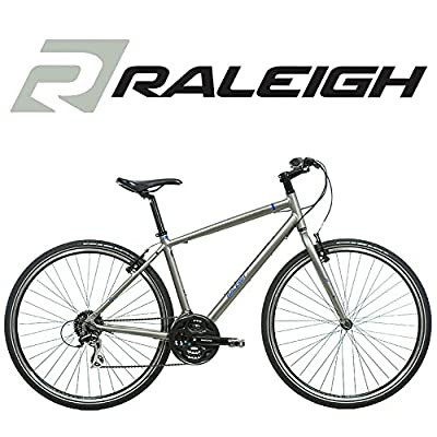 Raleigh Strada 2 700C Wheel Mens Bike in Grey - Frame Size 18 Inch