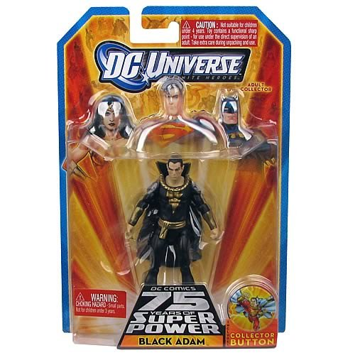 DC Universe Infinite Heroes 75 Years of Super Power Action Figure Black Adam