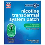 Rite Aid Nicotine Transdermal System, 21 mg, Patch, Opaque 7 patches