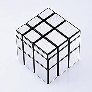 JohnsDollarStore 3x3x3 Puzzle Magic Mirror Cube Silver