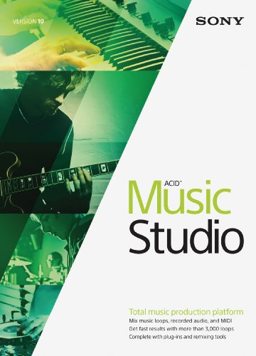 Sony acid music studio 10 download best cheap software for Music studio design software