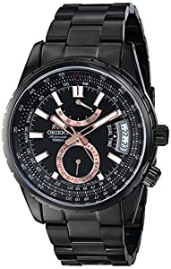 Orient Men's FDH01001B0 Voyager Analog Display Japanese Automatic Black Watch