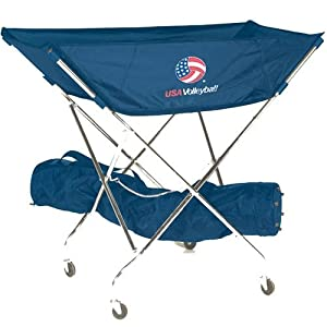 Buy Tandem Sport Ultimate Volleyball USA Drill Cart by Tandem