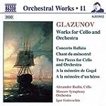 Glazounov: Woks for Cello and Orchestra