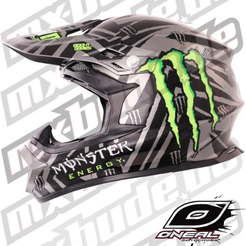 Oneal 812 Helm 2012 - Monster Energy - Ricky Dietrich: Größe Helm: S (55/56 cm)