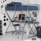 Duro Z Bunk Bed Loft with Desk -